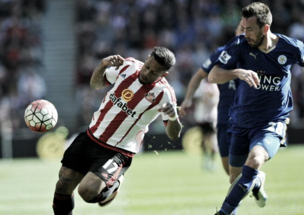 Above: Jeremain Lens in action in Sunderland AFC's 2-0 defeat to Leicester City last Sunday | Sunderland Echo