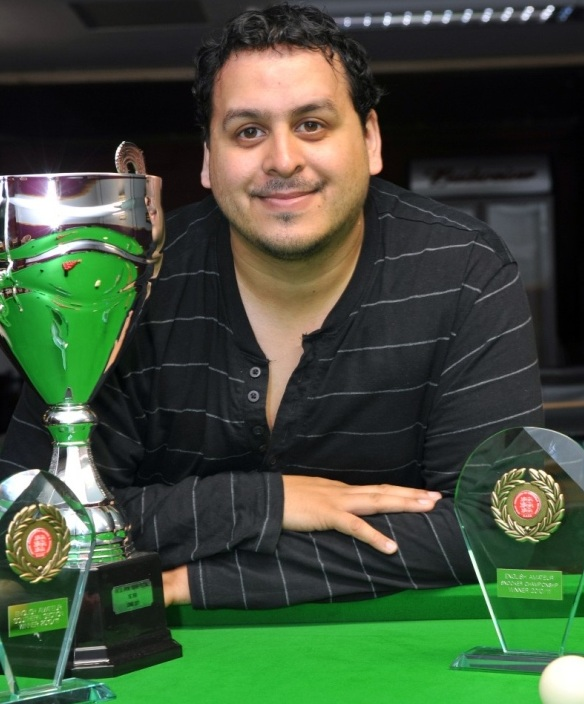 There will be no trophies for Fernandez in the near future (photo: Maximum Snooker)