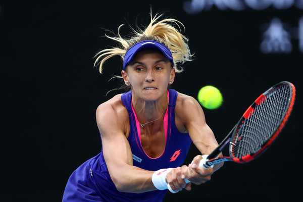 Lesia Tsurenko in action | Photo: Cameron Spencer/Getty Images AsiaPac