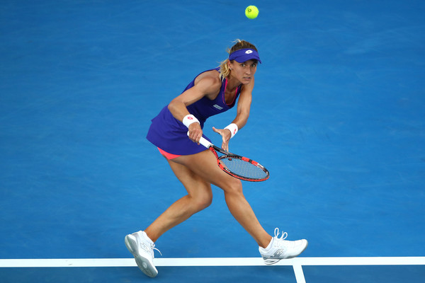 Lesia Tsurenko missed a chance to create a huge upset   Photo: Clive Brunskill/Getty Images AsiaPac