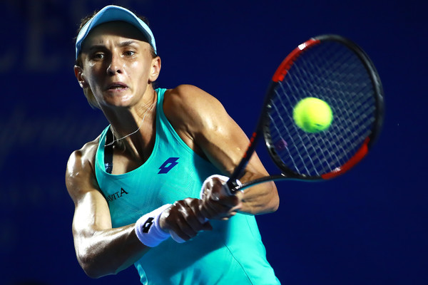 Lesia Tsurenko was on fire throughout the week | Photo: Hector Vivas/Getty Images South America