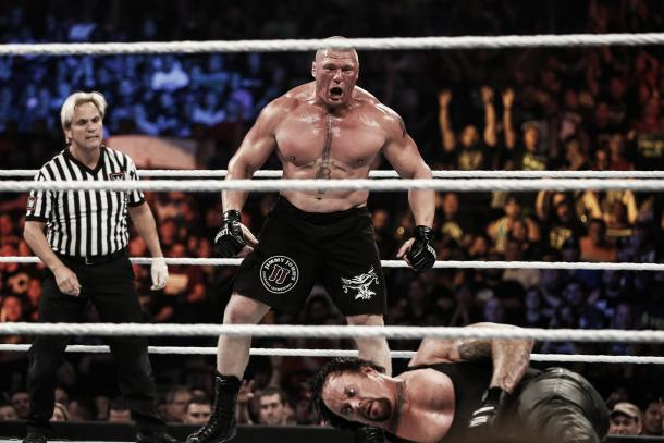 Will Brock Lesnar feature at SummerSlam this year? (image:buzzworthy.blog.austin360.com)