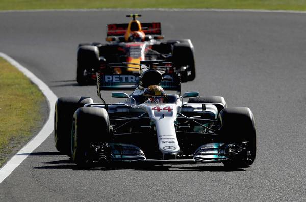Lewis Hamilton, durante el Gran Premio de Japón   Fuente: Zimbio
