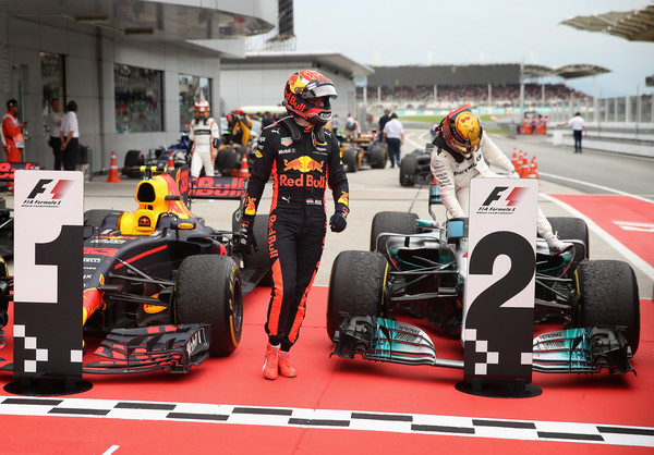 Max Verstappen después de ganar en Malasia. Fuente: Getty Images