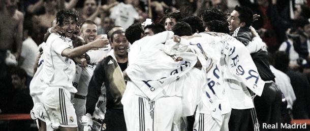 Celebración de la 30ª Liga del Real Madrid ante el Mallorca | Fuente: Real Madrid