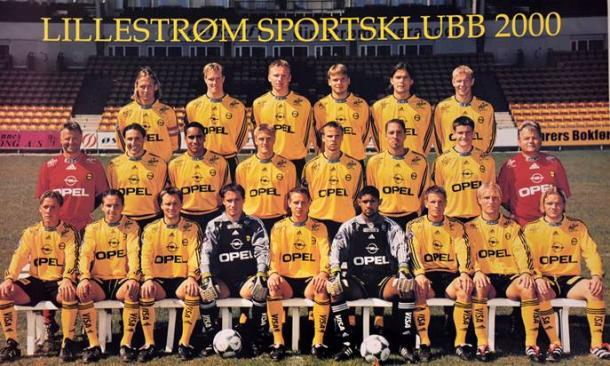 Equipo noruego del Lillestrom, en la temporada 2000-01. Fuente: lillestrom.com
