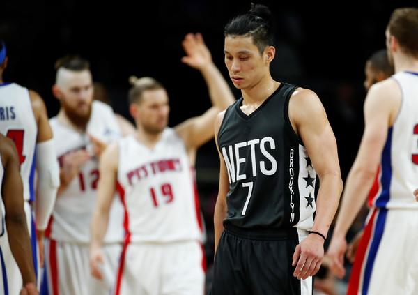 Jeremy Lin had a rough year and probably won't bounce back too quick. Photo: Gregory Shamus/Getty Images North America