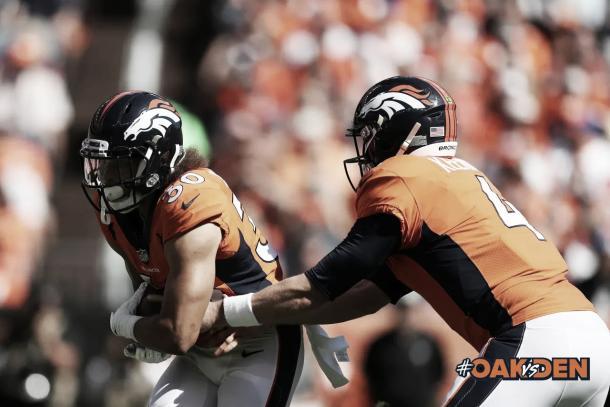 Lindsay y Keenum apuntan a ser el nuevo tándem líder de los Broncos | Foto: DenverBroncos.com