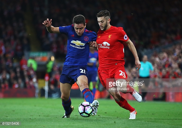 The likes of Herrera and Fellaini stifled Liverpool's attacking players / Getty Images / Clive Brunskill