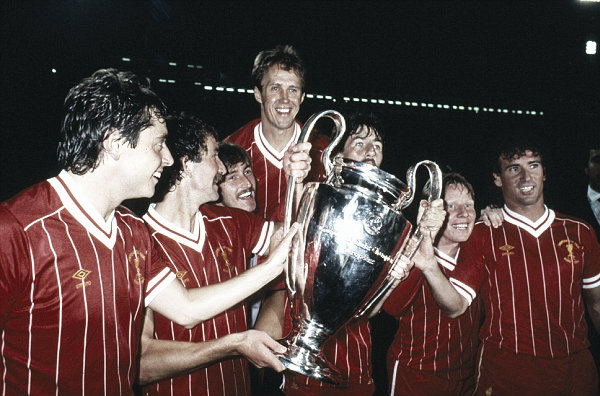 Liverpool claim their fourth European Cup in Rome (image:Getty)