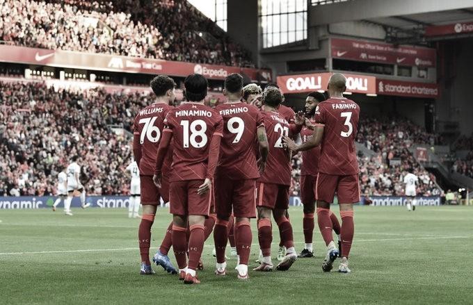 Liverpool vs Osasuna. Foto: Liverpool.