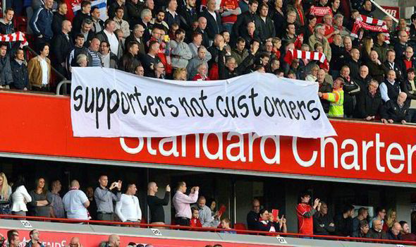 Liverpool's protests have had an impact outside of Anfield too. | Photo: Express