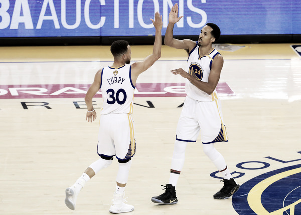 Livingston has found a nice role as Curry's backup. Photo: Ronald Martinez/Getty Images North America