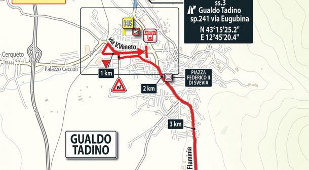 Llegada etapa 10: Penne - Gualdo Tadino | Foto: Giro de Italia