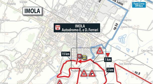 Llegada etapa 12: Osimo - Imola   Foto: Giro de Italia