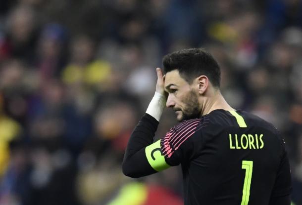 Capitão da França, Lloris reprovou a atitude do time na derrota (Foto: Reprodução/Equipe de France)
