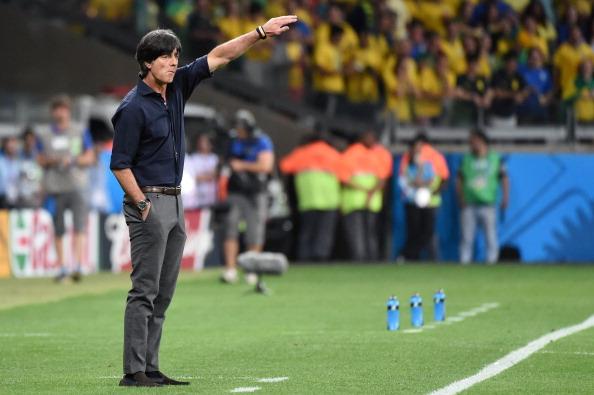 Löw comandou a Alemanha no 7 a 1 sobre o Brasil, na semifinal da Copa de 2014 (Foto: Patrik Stollarz/AFP via Getty Images)