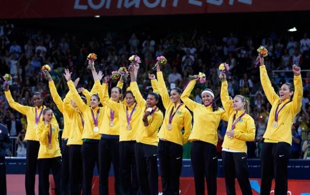 Brasil domina Estados Unidos na final do feminino e conquista Ouro (Foto: Divulgação)