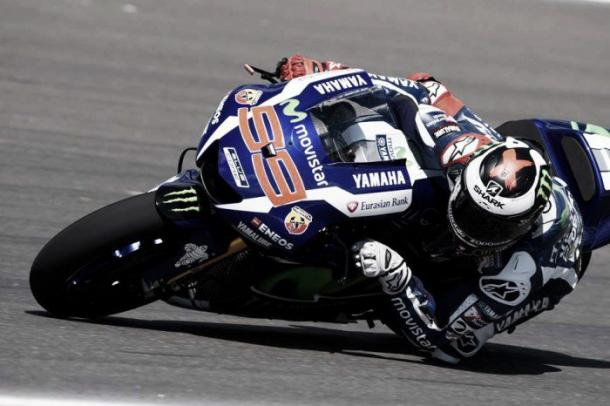 Lorenzo, with problems in Argentina | Photo: Yamaha Motor Racing.