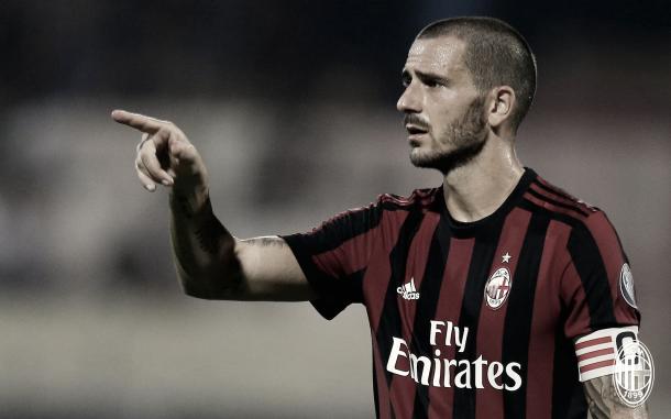 Bonucci, fichaje estrella del Milan | Foto: AC Milan