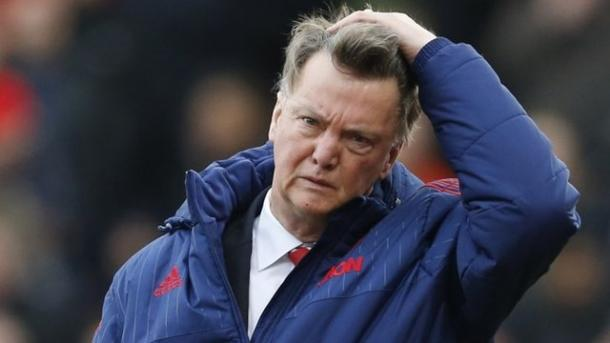 Is time up for LVG at United? | Photo BBC Sport