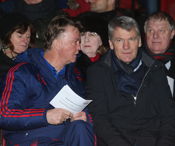 Van Gaal and other first team coaches very rarely attend youth games | Photo: John Peters/Manchester United