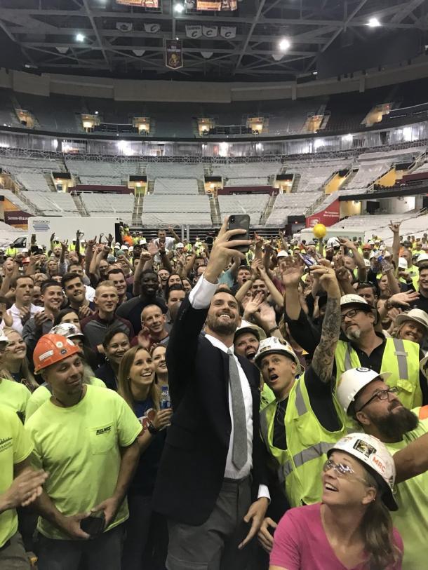 Foto: Reprodução/Twitter/Cleveland Cavaliers