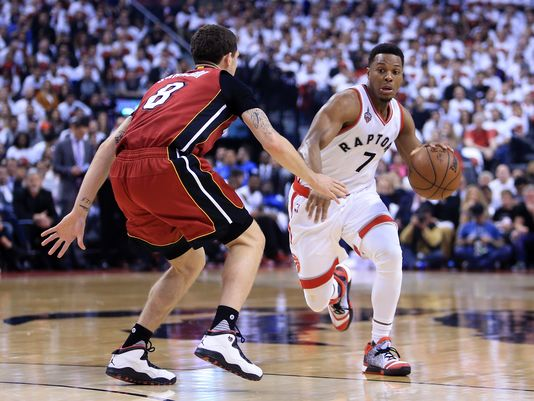 Kyle Lowry scored 35.5 points per game over Games 6 and 7 (Photo: Vaughn Ridley, Getty Images)