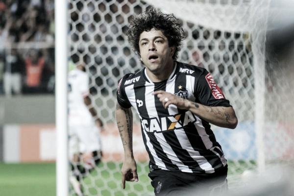 Luan comemora seu tento (Foto: Bruno Cantini/Atlético-MG)