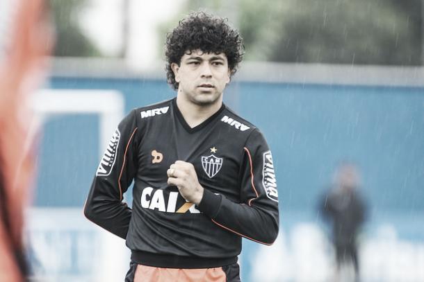 Luan está próximo de retornar à ativa (Foto: Bruno Cantini/Atlético-MG)