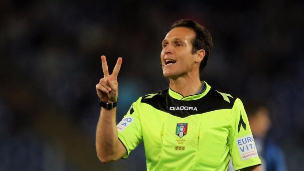 Luca Banti será el colegiado del encuentro | Foto: FIGC