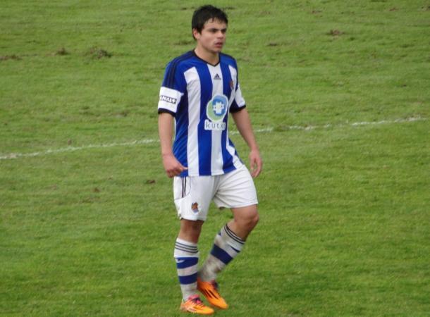 Sangalli durante un partido de la temporada pasada (Foto: Giovanni Batista)