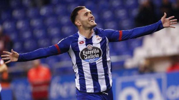 Perez scored 17 league goals for Deportivo last term (photo:google)