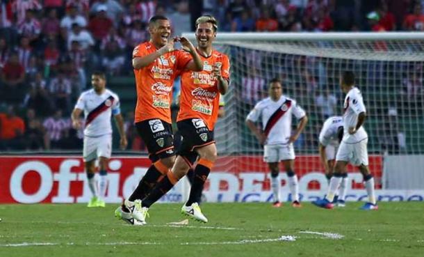 Festejando su único gol del torneo | Foto: Agencias