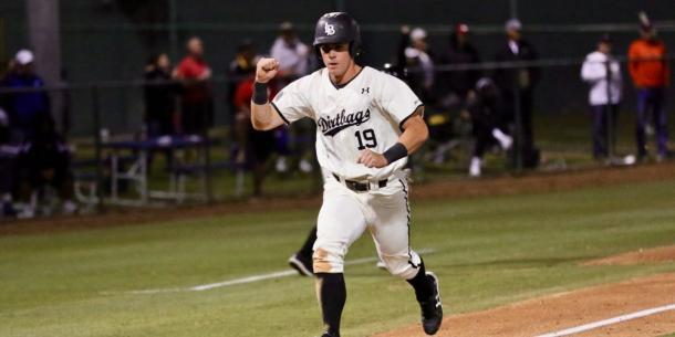 Tancas got the Long Beach State offense started/Photo: D1Baseball.com