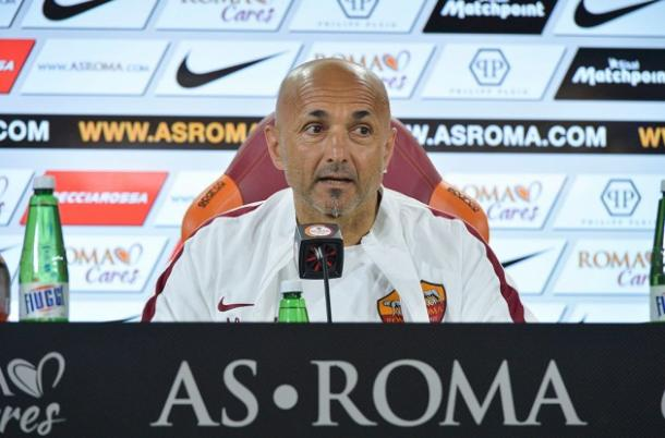 Luciano Spalletti. Fonte foto: forzaroma.com