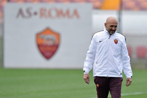 Luciano Spalletti a Trigoria, laroma24.it