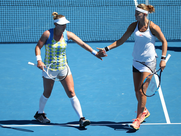 Mattek-Sands and Safarova continues to be best partners, on-court and off-court | Photo: Jack Thomas/Getty Images AsiaPac