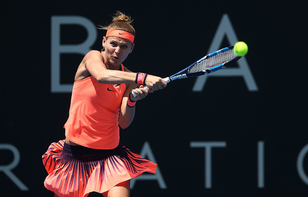 Lucie Safarova was a title favourite in Hobart, but she was shocked by Risa Ozaki in the second round | Photo: Mark Metcalfe/Getty Images AsiaPac