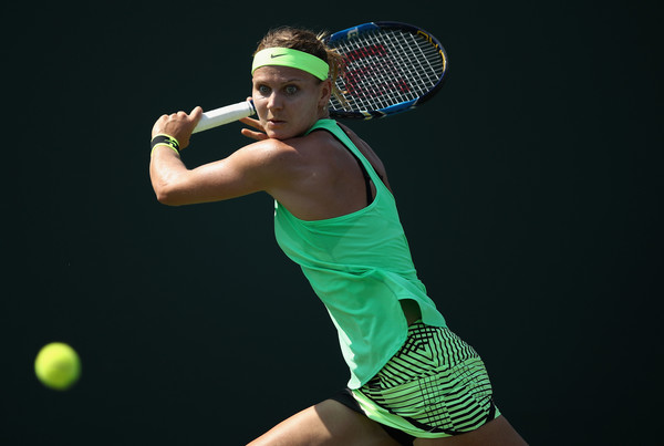 Lucie Safarova in action | Photo: Julian Finney/Getty Images North America