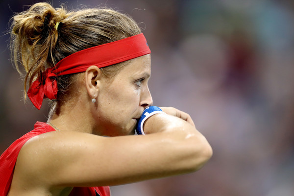 Lucie Safarova was defeated twice in succession by Sloane Stephens | Photo: Matthew Stockman/Getty Images North America