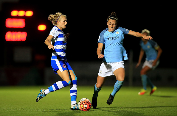 Lucy Bronze has been excellent at the back for City this season | Photo: Getty