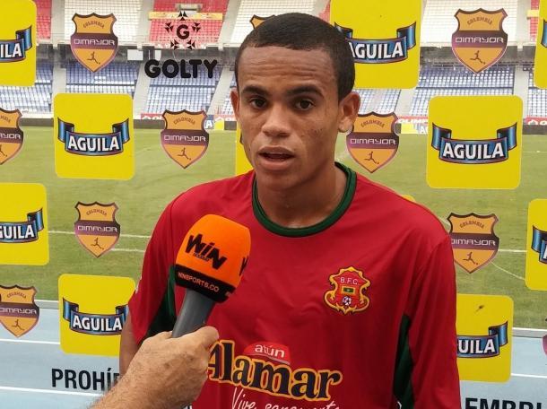 Luis Díaz elegido como jugador del partido   Foto: WIN Sports