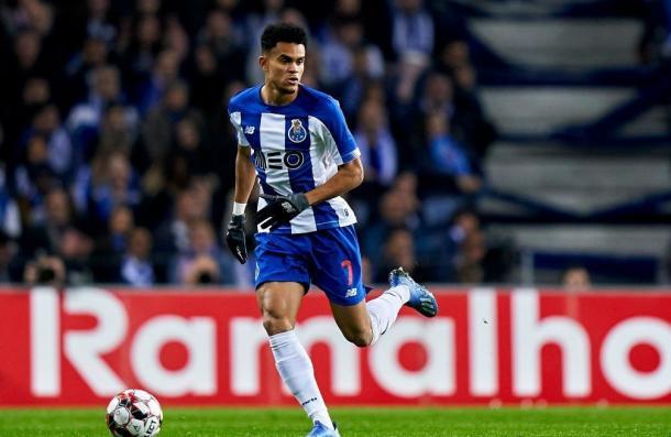 Luis Díaz debutando con el Porto F.C   Foto: Futbolred