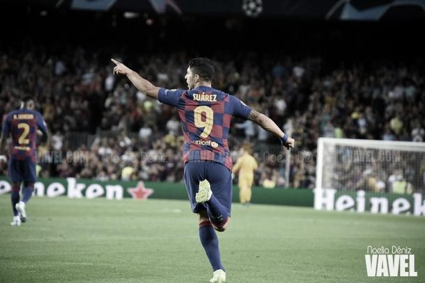 Luis Suárez, goleador en el Barcelona | Foto: Noelia Déniz - VAVEL