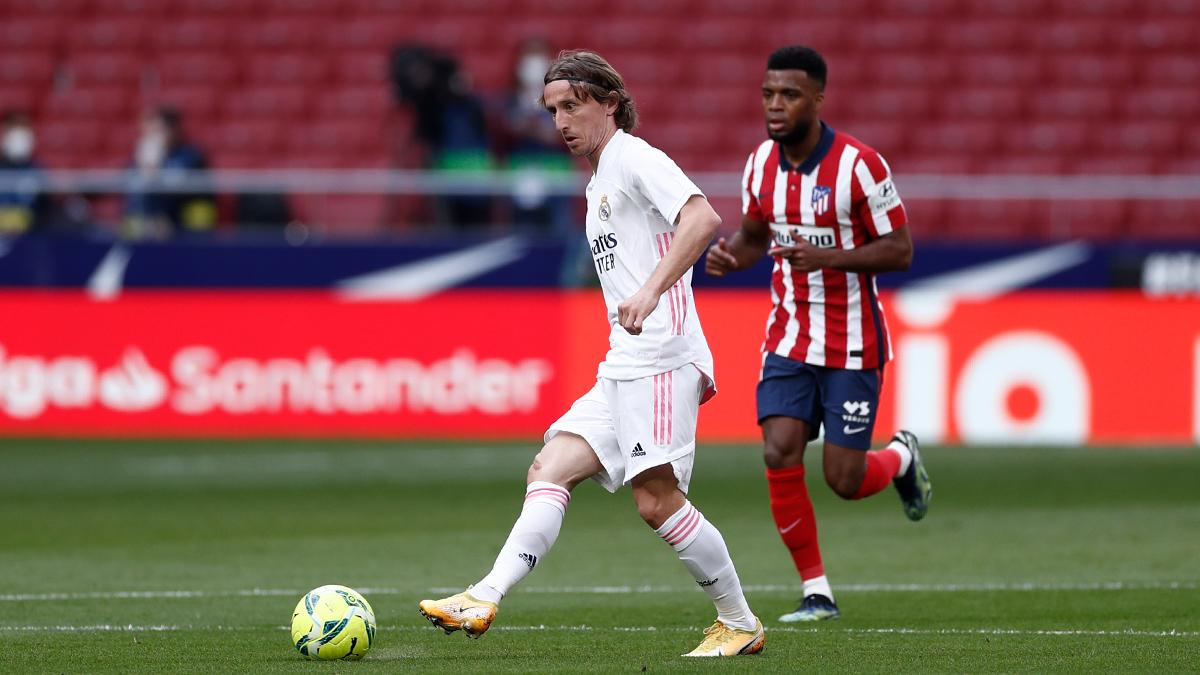 Luka Modric, lo más destacable de la primera parte del Madrid | Foto: Real Madrid