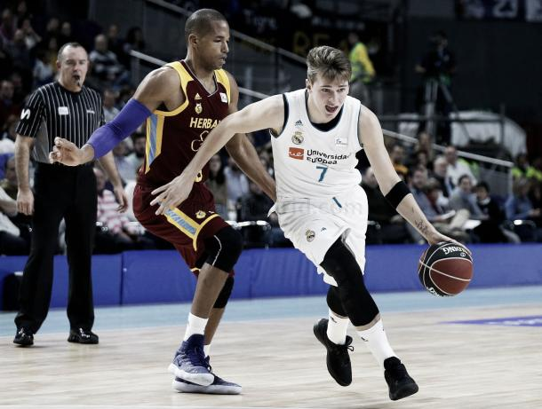 Luka Doncic ante Gran Canaria/ Foto: Real Madrid Baloncesto