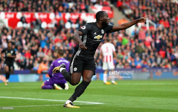 Lukaku celebrates yet another goal. Source | Getty Images.