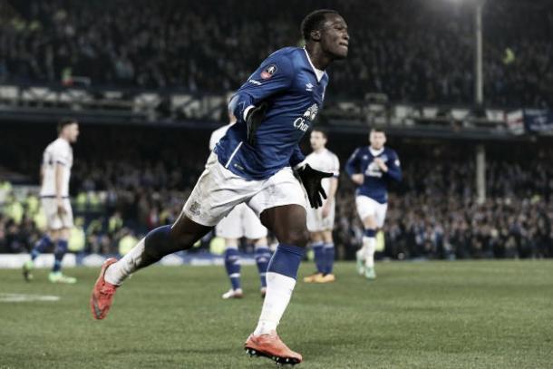 Romelu Lukaku celebrates firing the Blues to Wembley. | Photo: Bleacher Report