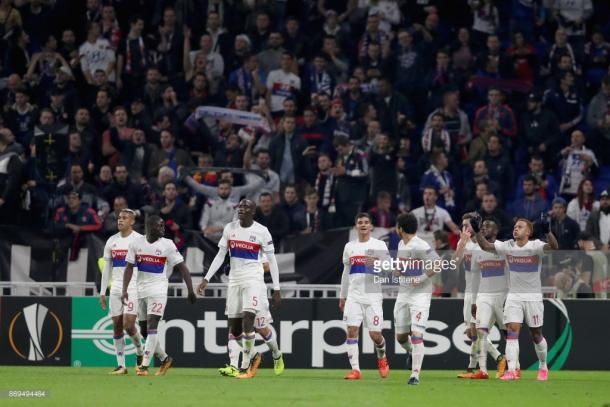 Depay, Fekir and Diaz have been the stars for Lyon this season. Source | Getty Images.